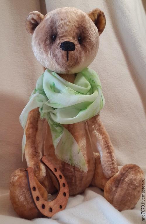 Мишки Тедди ручной работы. Ярмарка Мастеров - ручная работа. Купить Подкова на счастье. Мишка Тедди. 42 см.. Handmade.