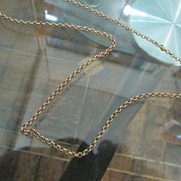Украшения ручной работы. Ярмарка Мастеров - ручная работа Золотая Цепь Цепочка 585 пробы вязка Шопард Chopard 2,95 грамм. Handmade.