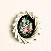 Украшения handmade. Livemaster - original item Brooch DELICATE Lily of the VALLEY. Handmade.