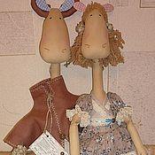 Куклы и игрушки ручной работы. Ярмарка Мастеров - ручная работа Влюбленные лоси. Handmade.
