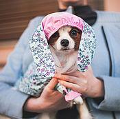 Для домашних животных, ручной работы. Ярмарка Мастеров - ручная работа Куртка-дождевик для собаки Зайка. Handmade.