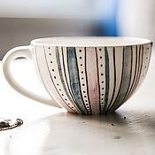 Посуда handmade. Livemaster - original item Cozy PJ`s.... Cup handmade ceramics. Handmade.