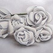 Картины и панно ручной работы. Ярмарка Мастеров - ручная работа Картина - Белые розы. Светится в темноте.. Handmade.