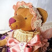 Куклы и игрушки ручной работы. Ярмарка Мастеров - ручная работа Дженни. Кофейная мишка.. Handmade.