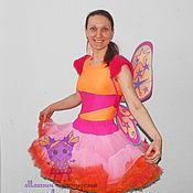 Одежда handmade. Livemaster - original item Winx Stella (magnificent skirt). Animator-actor suit. Handmade.