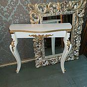 Столы ручной работы. Ярмарка Мастеров - ручная работа Консоль Консольный стол. Handmade.