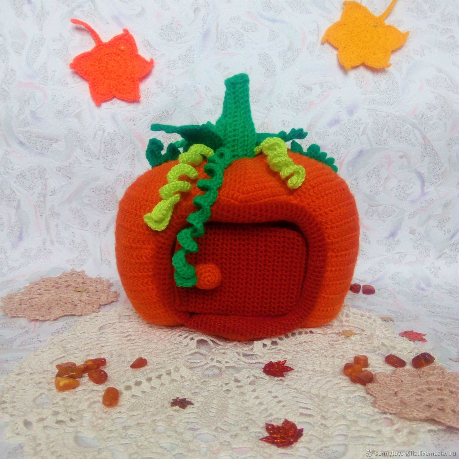 Knitted house game Pumpkin, Doll houses, Berezovsky,  Фото №1