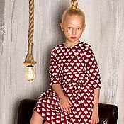 """Работы для детей, ручной работы. Ярмарка Мастеров - ручная работа Платье """"One Love"""" Red. Handmade."""