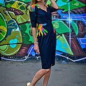 """Одежда ручной работы. Ярмарка Мастеров - ручная работа Платье """"Неоновые объятия"""". Handmade."""