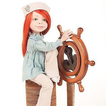 Куклы и игрушки ручной работы. Ярмарка Мастеров - ручная работа И море отраженное во мне. Handmade.