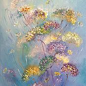 Картины и панно handmade. Livemaster - original item Oil painting gone with the wind. Handmade.