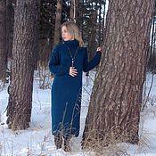 Одежда ручной работы. Ярмарка Мастеров - ручная работа Платье вязаное оверсайз из Ангоры. Handmade.