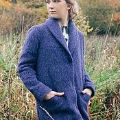 Одежда ручной работы. Ярмарка Мастеров - ручная работа Пальто из мохера классическое. Handmade.
