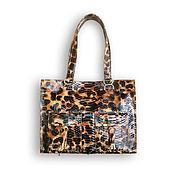 Сумки и аксессуары handmade. Livemaster - original item Bag made of PYTHON skin in stock. Handmade.