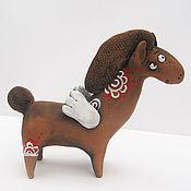 """Подарки к праздникам ручной работы. Ярмарка Мастеров - ручная работа """"Летающие лошадки"""". Handmade."""