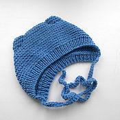 Работы для детей, handmade. Livemaster - original item The cap with ears. Handmade.