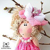 Куклы и игрушки ручной работы. Ярмарка Мастеров - ручная работа Ангел Цветов - розовый, весенний, нежный, для девочки. Handmade.