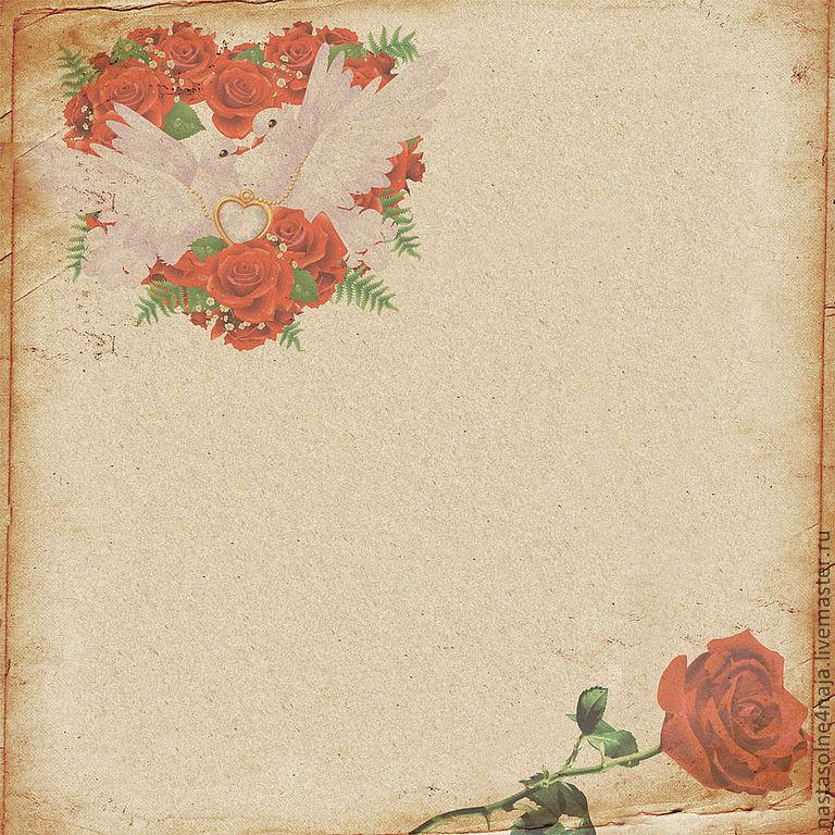 Скрапбукинг фон для свадебных открыток, для юноши