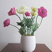 Цветы и флористика ручной работы. Ярмарка Мастеров - ручная работа Маки по полю разбросаны дивно..... Handmade.