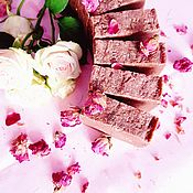 Мыло ручной работы. Ярмарка Мастеров - ручная работа Натуральное мыло с нуля ручной работы Чайная роза бордовый подарок. Handmade.