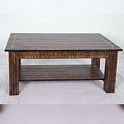 Столы ручной работы. Ярмарка Мастеров - ручная работа Стол для кофе, журнальный из массива дерева KODA. Handmade.