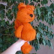 Куклы и игрушки handmade. Livemaster - original item Crocheted squirrel Basik - (knitted toy, knitted squirrel). Handmade.