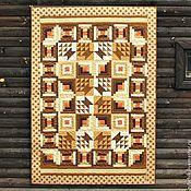 Для дома и интерьера ручной работы. Ярмарка Мастеров - ручная работа Лоскутное покрывало Под ракитовым кустом пэчворк. Handmade.