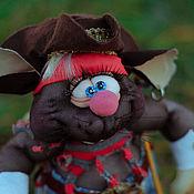 Мягкие игрушки ручной работы. Ярмарка Мастеров - ручная работа Игрушки: Крыска-мышка Гроза морей. Handmade.