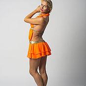 Одежда ручной работы. Ярмарка Мастеров - ручная работа Платье для танцев воздушное. Handmade.