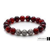 Украшения handmade. Livemaster - original item Men`s bracelet, women`s bracelet from Baltic amber. Handmade.