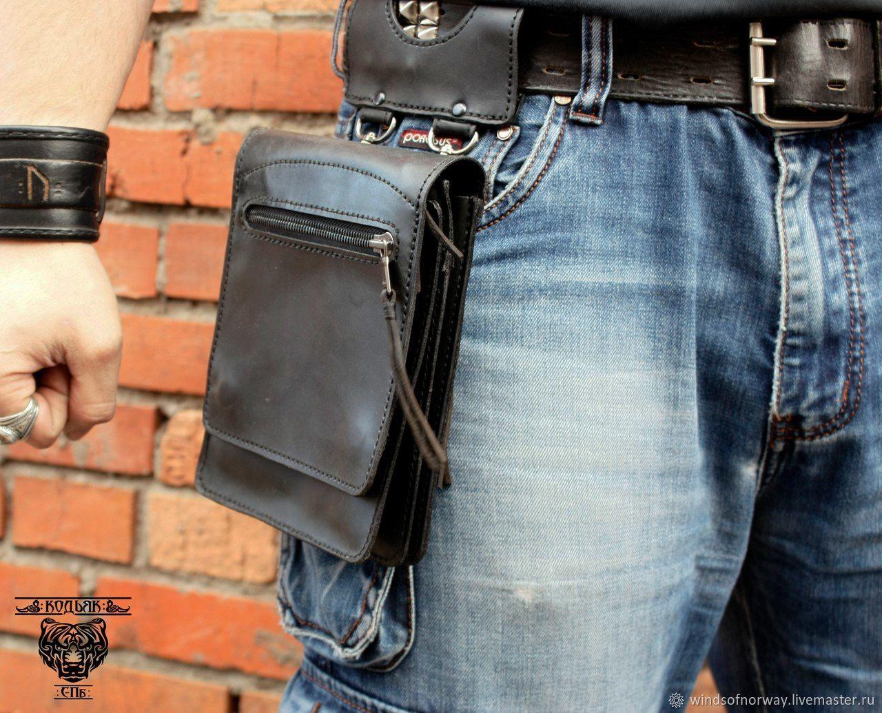 Поясная сумка полоская на заказ, Поясная сумка, Санкт-Петербург,  Фото №1