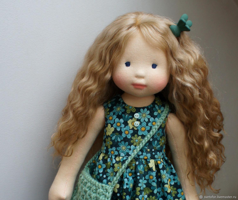 Вальдорфская кукла Грейс, 43 см ООАК, Вальдорфские куклы и звери, Пермь,  Фото №1