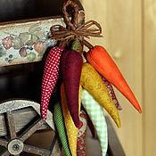 Для дома и интерьера ручной работы. Ярмарка Мастеров - ручная работа Перчики текстильные (маленькие связки). Handmade.