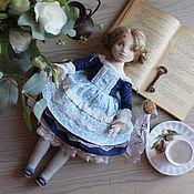 Куклы и пупсы ручной работы. Ярмарка Мастеров - ручная работа Авторская кукла текстильная кукла doll Алиса в стране чудес. Handmade.