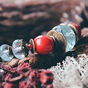 Украшения ручной работы. Ярмарка Мастеров - ручная работа Багряный закат  -браслет. Handmade.