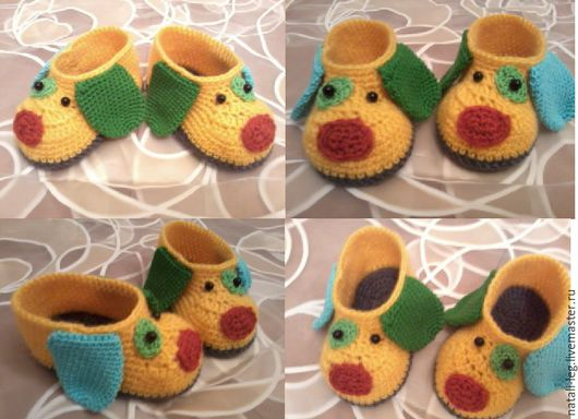 Обувь ручной работы. Ярмарка Мастеров - ручная работа. Купить Пинетки. Handmade. Пинетки, пинетки крючком, обувь ручной работы