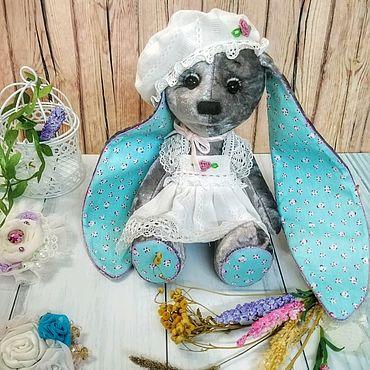Куклы и игрушки ручной работы. Ярмарка Мастеров - ручная работа Зайка из меха. Handmade.