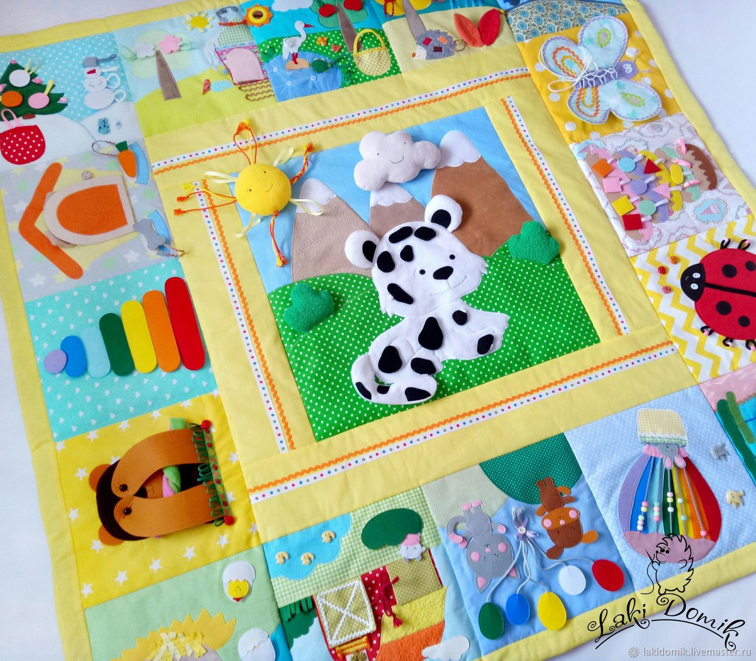 Play Mat Large snow leopard, Doll food, Minsk,  Фото №1