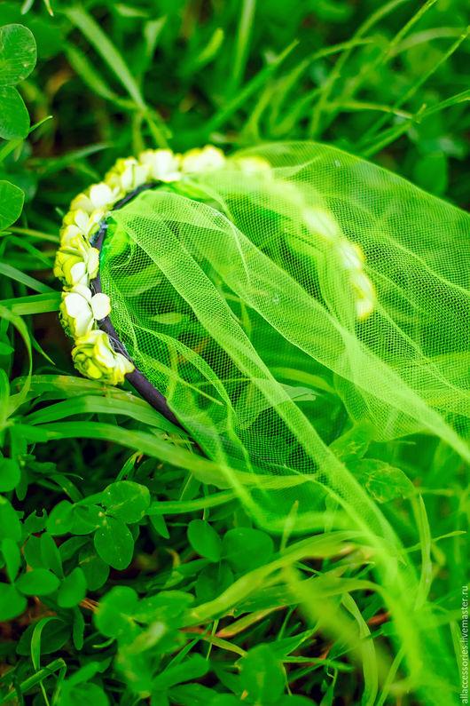 Ободок с цветочками  для девичника  http://vk.com/club122553814