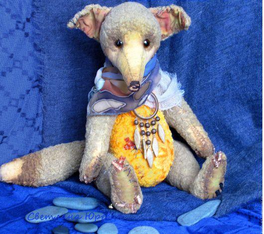 Мишки Тедди ручной работы. Ярмарка Мастеров - ручная работа. Купить Фенёк - лисичка тедди. Handmade. Комбинированный, лисичка, вышивка