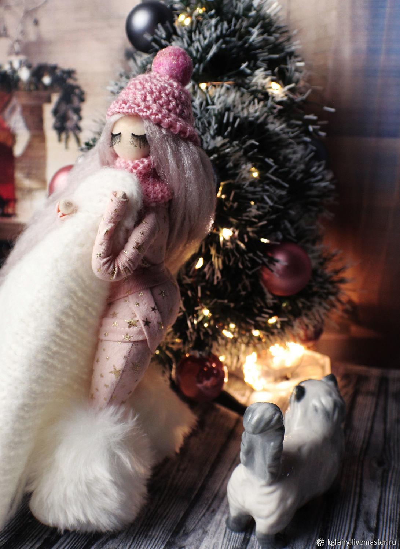 Авторская кукла. Снегурочка, Куклы и пупсы, Москва,  Фото №1