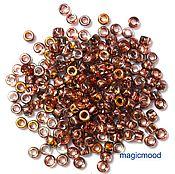 Материалы для творчества handmade. Livemaster - original item 10gr Matubo 7/0 3,5 mm C00030 apollo gold Czech beads. Handmade.