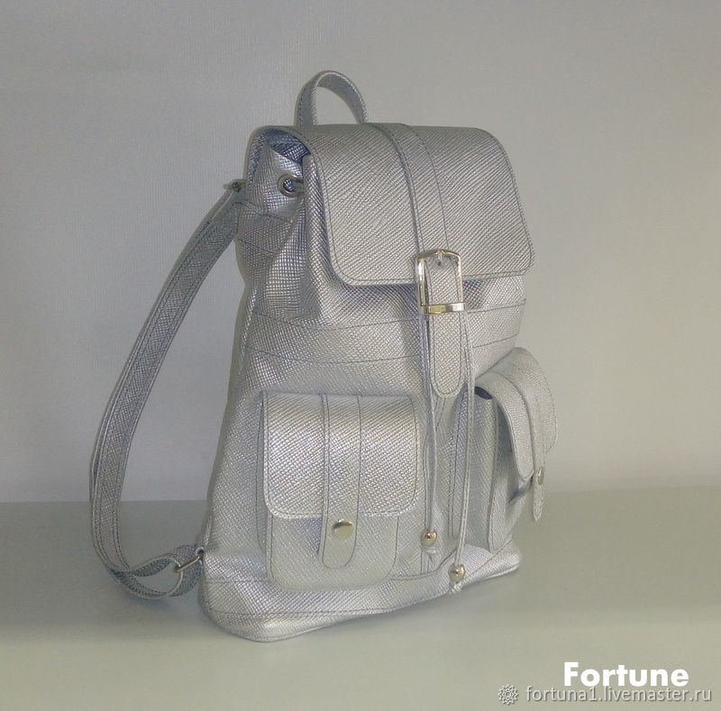 Leather backpack 'Saffiano», Backpacks, St. Petersburg,  Фото №1