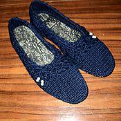 """Обувь ручной работы. Ярмарка Мастеров - ручная работа Балетки-туфельки """"Brainchild"""" женские НА ЗАКАЗ.. Handmade."""