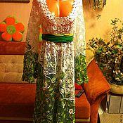 """Одежда ручной работы. Ярмарка Мастеров - ручная работа Платье """"Беловежская пуща"""". Handmade."""