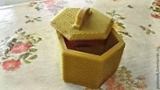 Посуда ручной работы. Ярмарка Мастеров - ручная работа. Купить эко-упаковка для мёда. Handmade. Желтый, подарок девушке