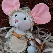 Куклы и игрушки ручной работы. Ярмарка Мастеров - ручная работа Текстильная Мышка Фрося. Handmade.