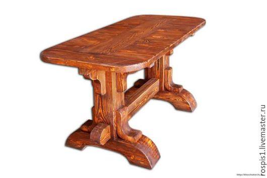 Авторский стол Тюдор из состаренного дерева