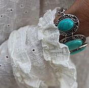 Блузки ручной работы. Ярмарка Мастеров - ручная работа Блузка из марлевки Изабель. Handmade.
