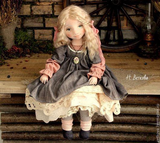 Коллекционные куклы ручной работы. Ярмарка Мастеров - ручная работа. Купить Доротея авторская текстильная коллекционная будуарная кукла. Handmade.
